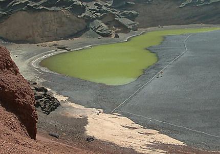 Lagune à Lanzarote