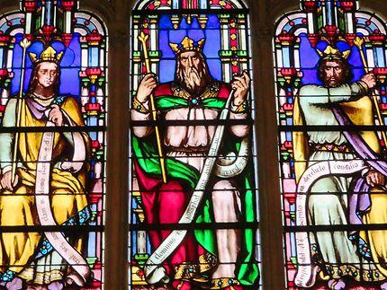 Vitrail Chapelle de la Vierge