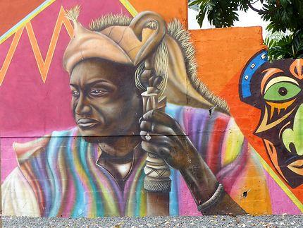 Street art à Sainte-Anne