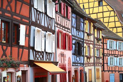 Maisons colorées à Colmar