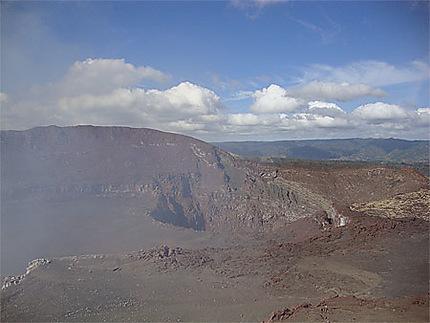 Paysage du volcan Masaya