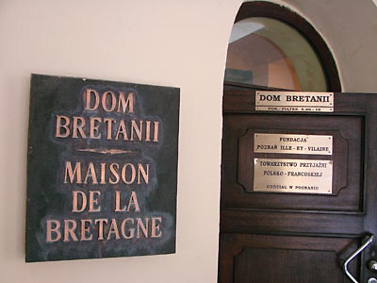 La Maison de la Bretagne à Poznan