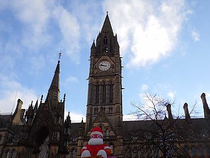 Town Hall parée pour Noël