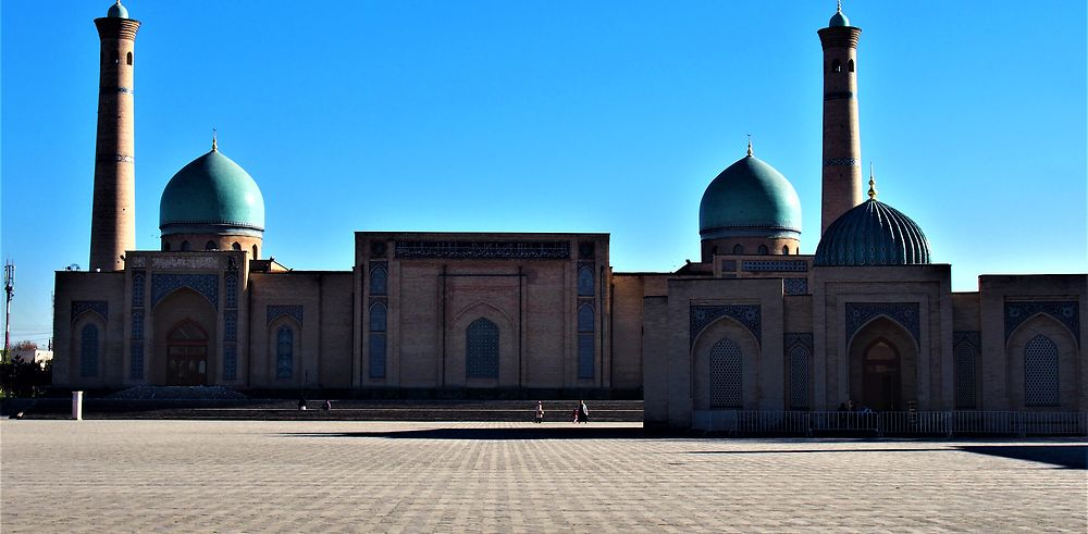 Tachkent ! Une des plus ancienne ville d'Asie Centrale
