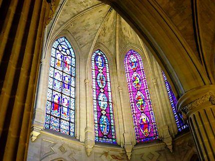 Vitraux à Saint-Germain-l'Auxerrois