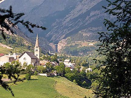 Villages de la haute vallée de l'Ubaye