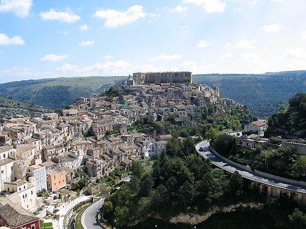 Sicile - Ragusa Ibla - vue générale