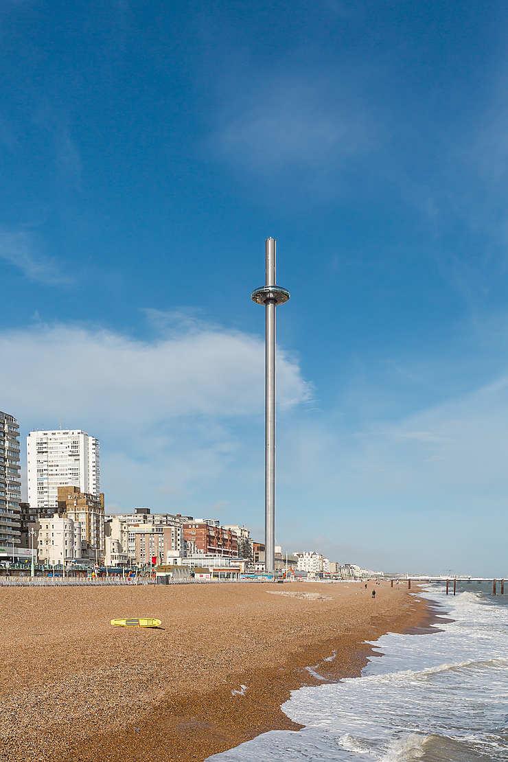 Angleterre - Brighton : ouverture de la plus haute tour d'observation du monde