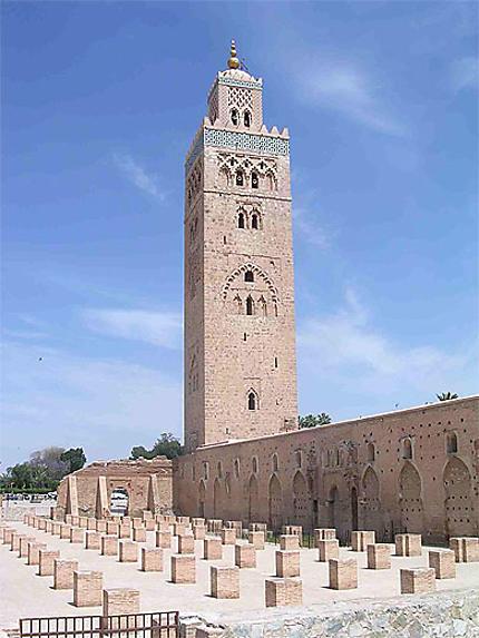 Mosquée La Koutoubia de Marrakech
