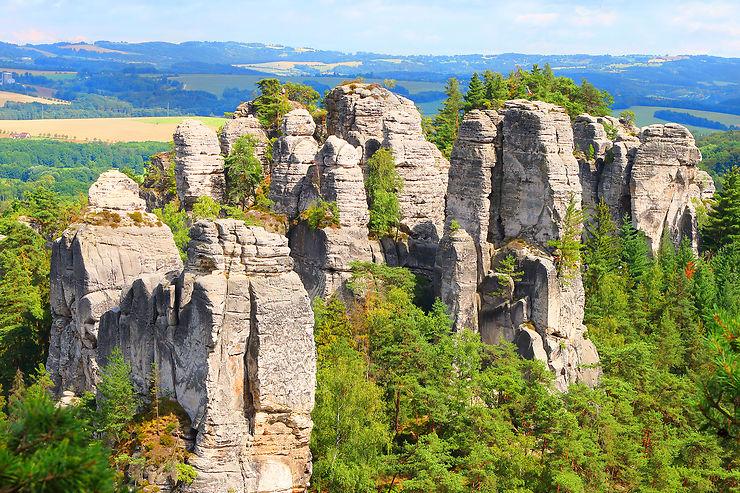 Un paradis tchèque tout en extravagances naturelles