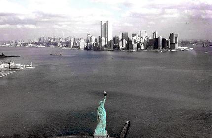 NY avec les Twin Towers
