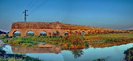 Aqueduc de Carthage à Mohamedia