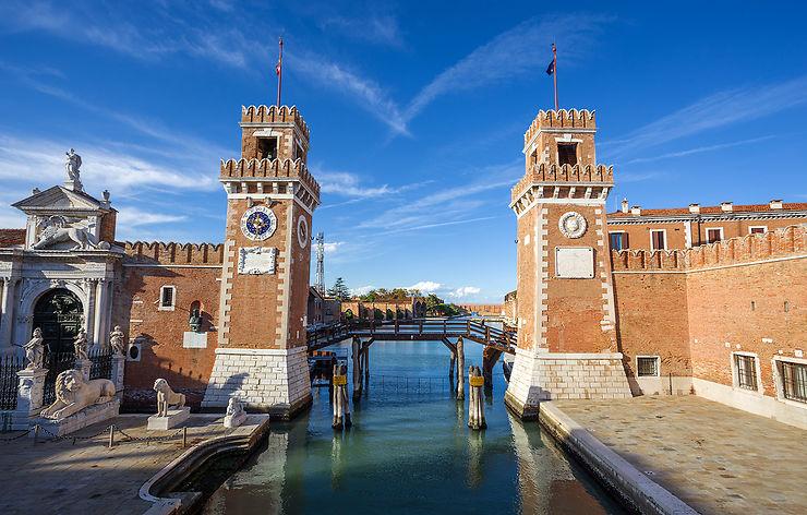 Le Castello, Venise côté jardin