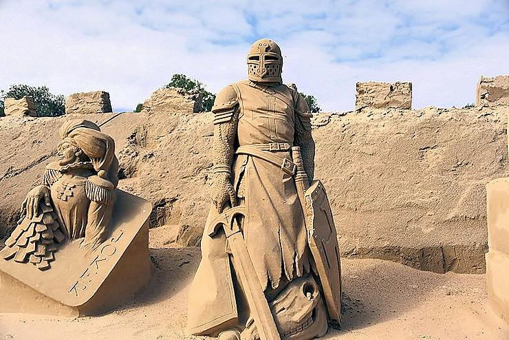 Sculptures de sable, Finlande