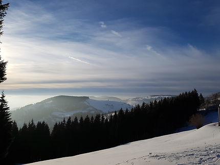 Les Vosges sous le soleil