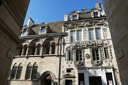 Dijon. Hôtel Aubriot et Maison Maillard