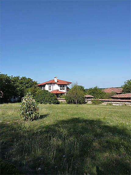 Maison bulgare typique