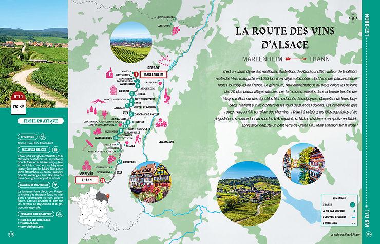 Viaggi su strada nel nord-est della Francia