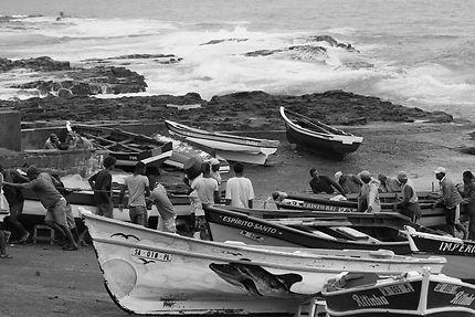 Retour de pêche à Ponta do Sol