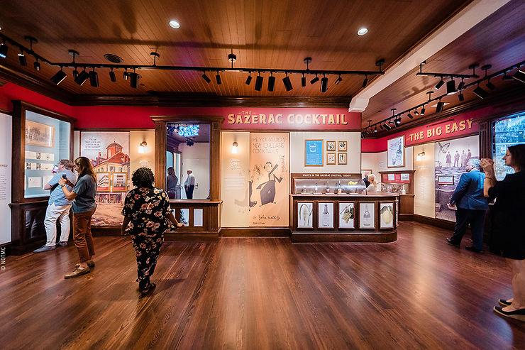 Louisiane - Un musée consacré au Sazerac, légende de La Nouvelle-Orléans