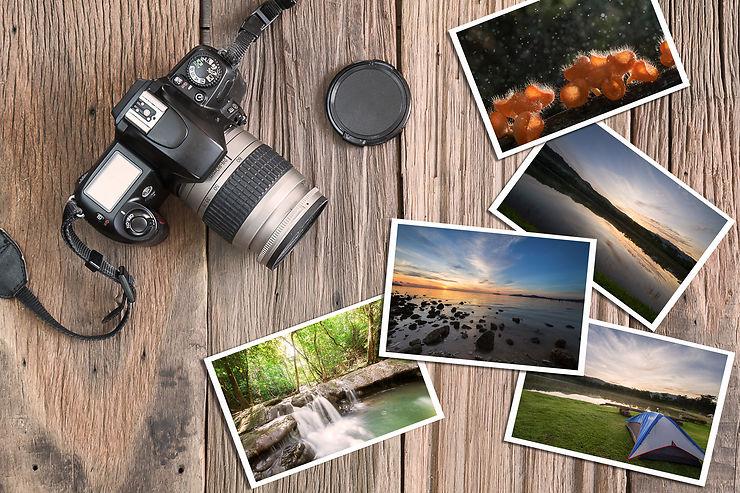 La photo numérique en voyage