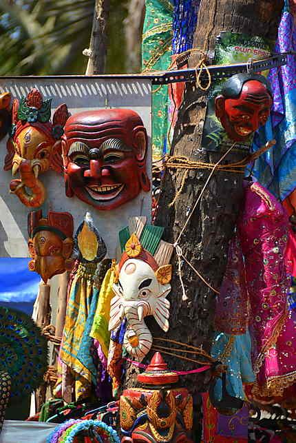 Les masques décoratifs