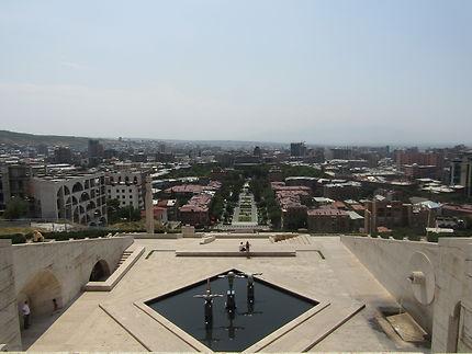 Vue sur Erevan