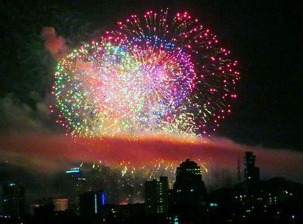 Nouvelle année à Pattaya