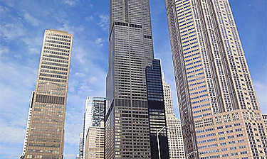 Willis Tower (ex-Sears Tower) ou Skydeck Chicago