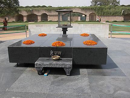 Raj Ghat mausolée Gandhi