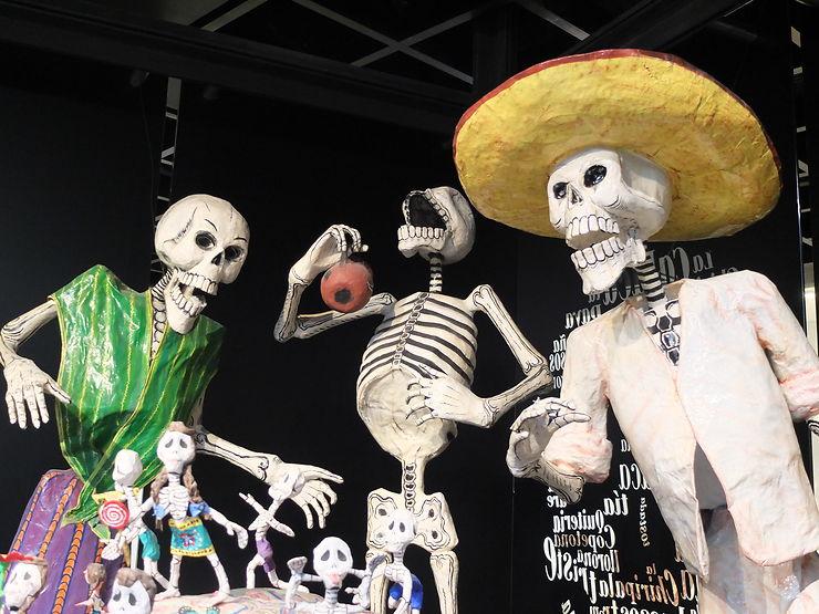 Fête des morts à Mexico