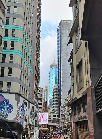 Ça monte et ça descend à Hong Kong !