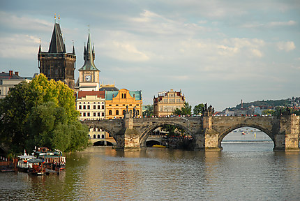 La Vlatva à Prague