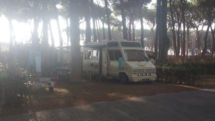 Fabuleux camping à Rome