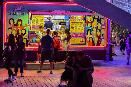 Food truck de Kowloon