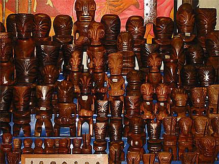 Tiki au marché de Papeete