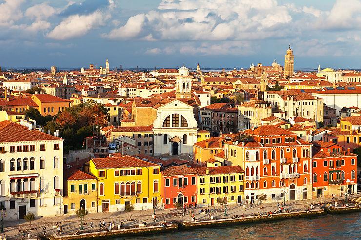Venise, sur le quai : Fondamente Nove et les Zattere