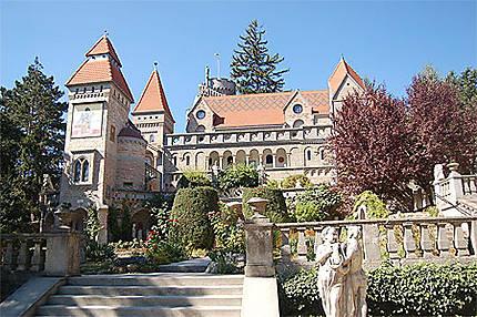 Le château Bory, à Székesfehérvár