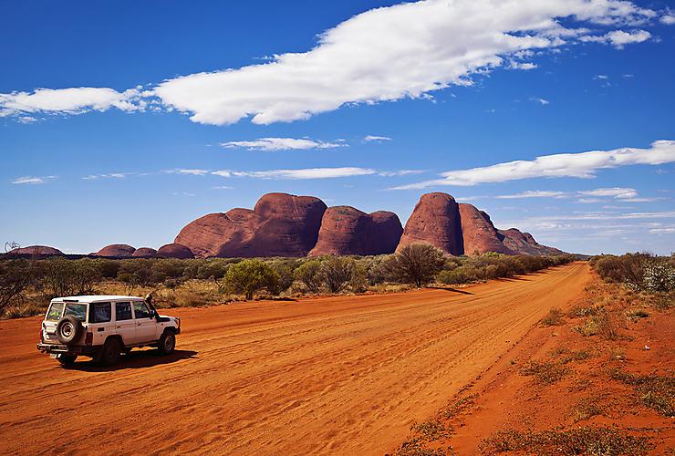 L'Outback : l'Australie, côté désert