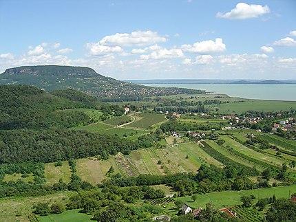 Lac Balaton depuis Szigliget