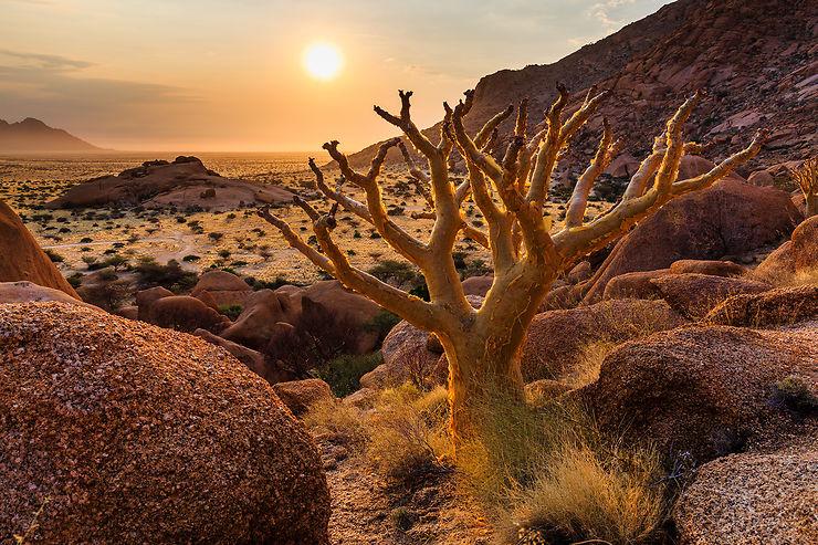 Les somptueux paysages du Damaraland