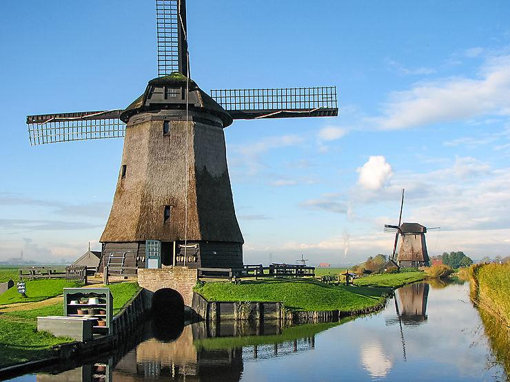 Les Pays-Bas, au fil des canaux