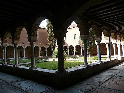 Un cloître à Venise