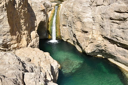 Un des nombreux wadi d'Oman