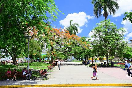 Parque Vidal à Santa Clara, Cuba