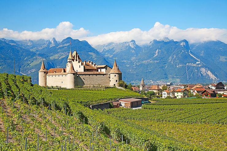 La Suisse, côté vignes