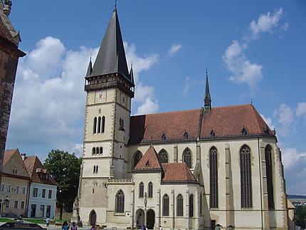 Cathédrale de Bardejov