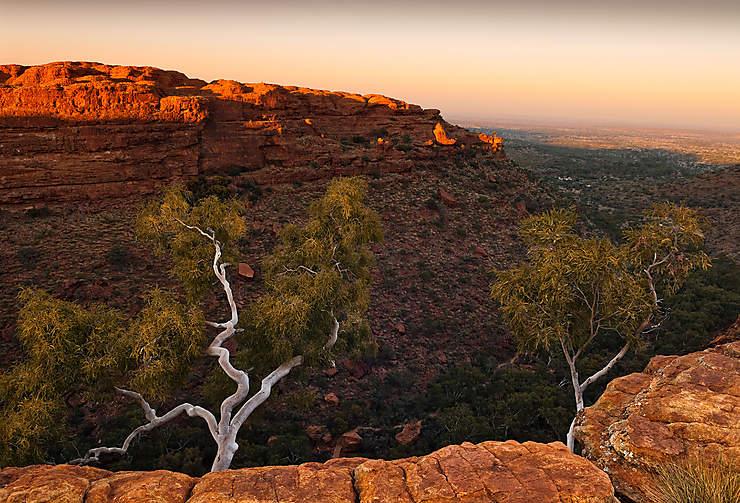 King's Canyon, jardin d'Éden australien