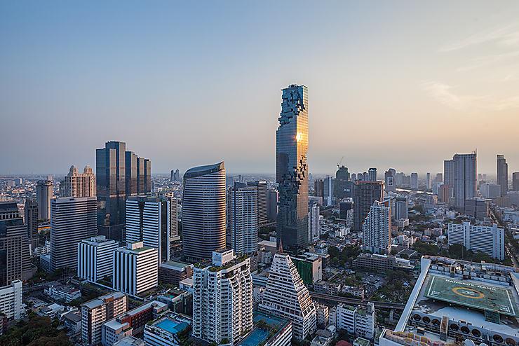 Bangkok - Inauguration de MahaNakhon, la plus haute tour de Thaïlande
