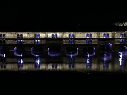 Barrage Vauban illuminé